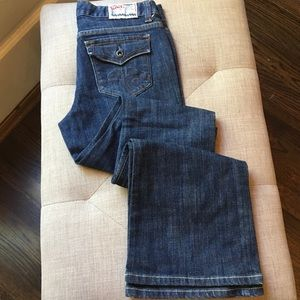 Chip & Pepper Laguna Beach Flare Dark Jeans Sz 3